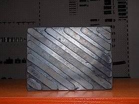 podkładka gumowa - kostka pełna S122