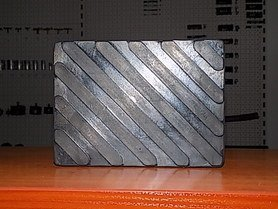 podkładka gumowa - kostka pełna S134
